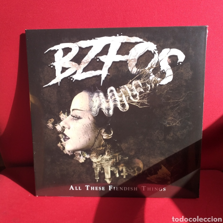 BLOODSUCKING ZOMBIES FROM Z OUTER SPACE - ALL THIS FIENDISH THINGS LP (Música - Discos - LP Vinilo - Punk - Hard Core)