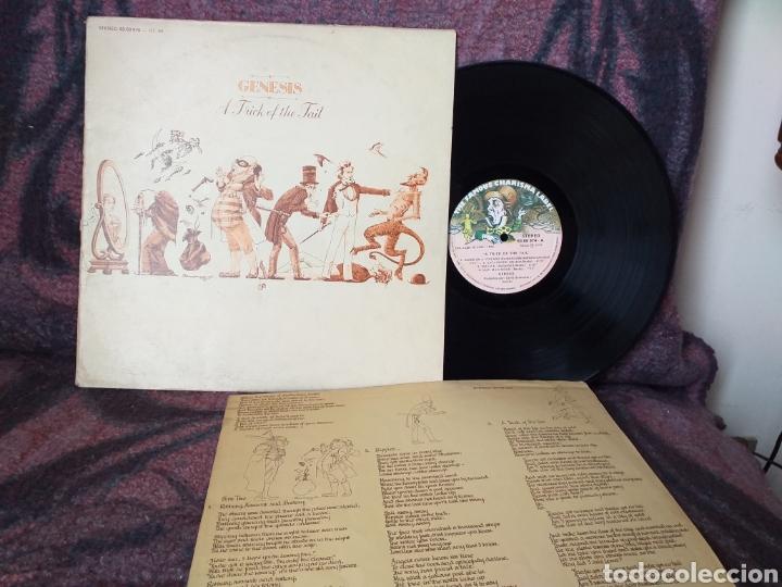 GENESIS A TRICK OF THE TAIL ESPAÑA 1976 (Música - Discos - LP Vinilo - Pop - Rock - Extranjero de los 70)