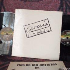 Discos de vinilo: GENESIS THREE SIDES LIVE VERTIGO ESPAÑA 1982. Lote 195389458