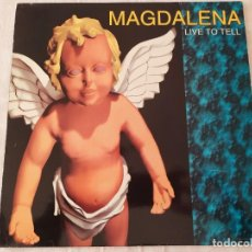 Discos de vinilo: MAGDALENA ‎– LIVE TO TELL. Lote 195390447