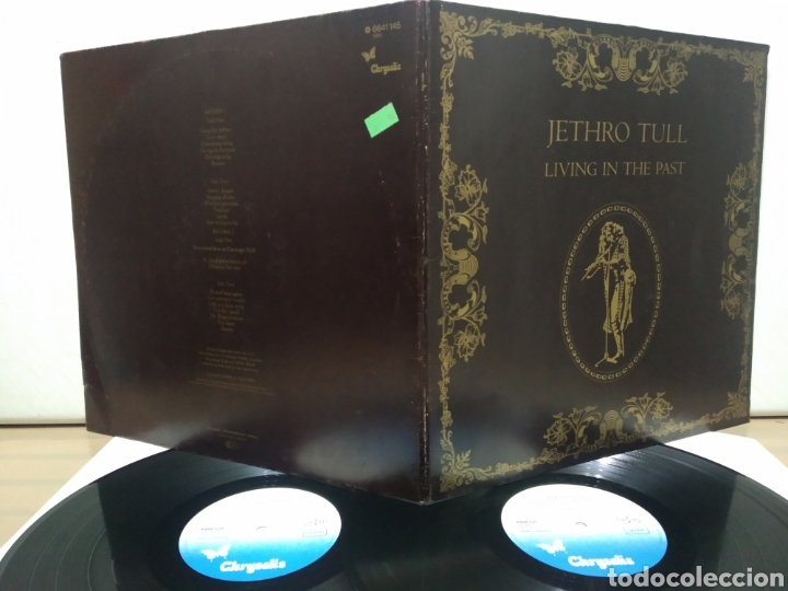 Discos de vinilo: Jethro Tull - Living In The Past 1978 ( 1972 ) Ed Alemana Gatefold - Foto 4 - 195390865
