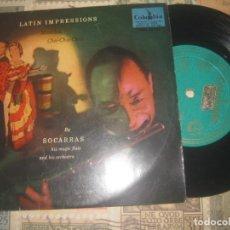 Discos de vinilo: SOCARRAS - Y SU FLAUTA MÁGICA -EP (COLUMBIA 1958 ) OG ESPAÑA. Lote 195391015