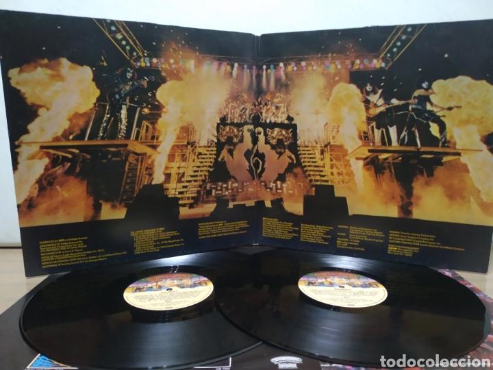 Discos de vinilo: Kiss - Alive II 1977 Ed Alemana Gatefold con encartes - Foto 3 - 195391095