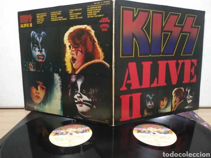 Discos de vinilo: Kiss - Alive II 1977 Ed Alemana Gatefold con encartes - Foto 4 - 195391095