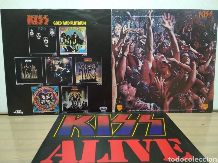 Discos de vinilo: Kiss - Alive II 1977 Ed Alemana Gatefold con encartes - Foto 5 - 195391095