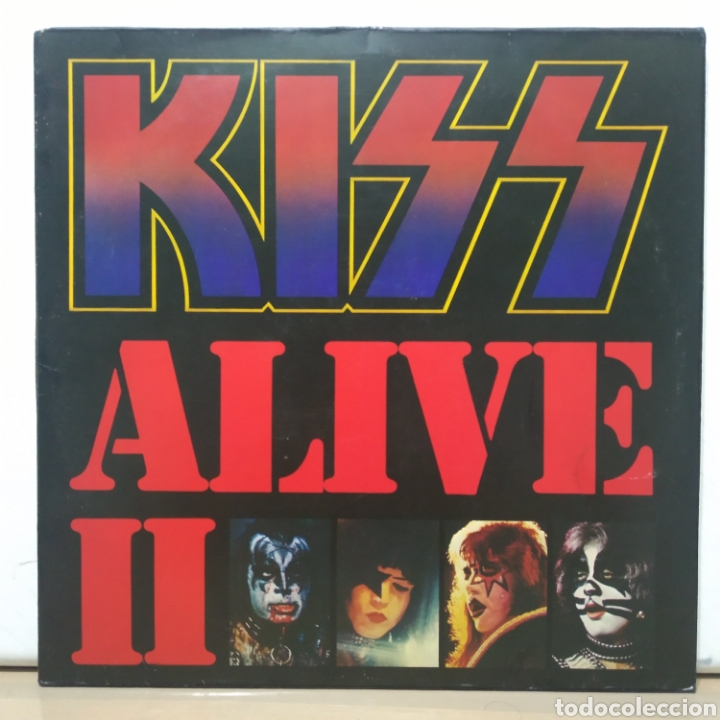Discos de vinilo: Kiss - Alive II 1977 Ed Alemana Gatefold con encartes - Foto 6 - 195391095