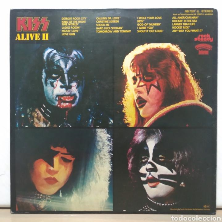 Discos de vinilo: Kiss - Alive II 1977 Ed Alemana Gatefold con encartes - Foto 7 - 195391095