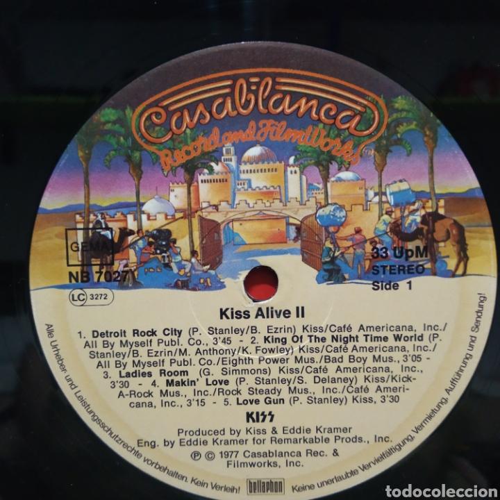 Discos de vinilo: Kiss - Alive II 1977 Ed Alemana Gatefold con encartes - Foto 8 - 195391095