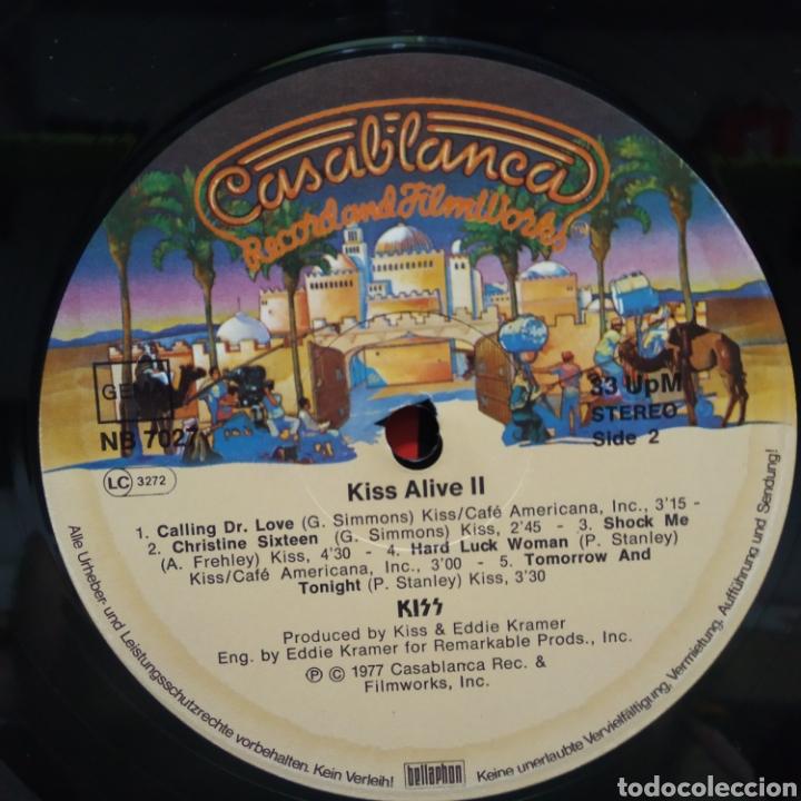 Discos de vinilo: Kiss - Alive II 1977 Ed Alemana Gatefold con encartes - Foto 9 - 195391095