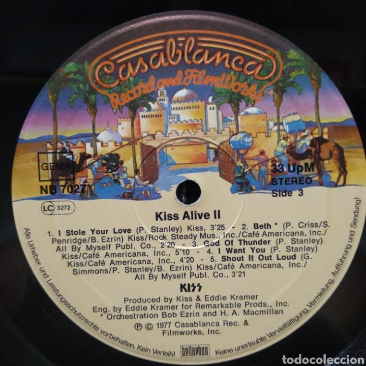 Discos de vinilo: Kiss - Alive II 1977 Ed Alemana Gatefold con encartes - Foto 10 - 195391095