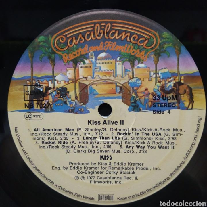 Discos de vinilo: Kiss - Alive II 1977 Ed Alemana Gatefold con encartes - Foto 11 - 195391095