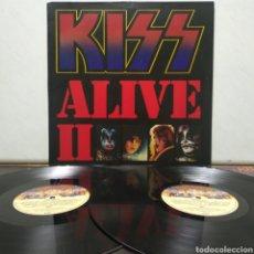 Discos de vinilo: KISS - ALIVE II 1977 ED ALEMANA GATEFOLD CON ENCARTES. Lote 195391095