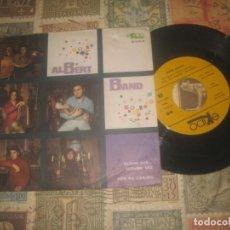 Discos de vinilo: ALBERT BAND - ALGUN DIA ALGUNA VEZ / POR TU CARIÑO (EKIPO 1969) OG ESPAÑA. Lote 195391105