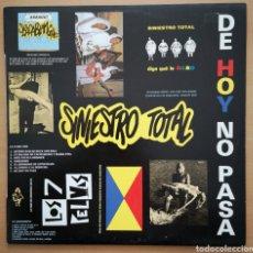 Discos de vinilo: SINIESTRO TOTAL - IMPECABLE - DE HOY NO PASA. Lote 195391468