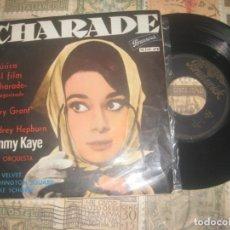 Discos de vinilo: CHARADE (SAMMY KAYE) TEMAS DE LA PELICULA / BLUE VELVET / (BRUNSWICK 1964) OG ESPAÑA. Lote 195391567