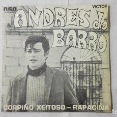 Discos de vinilo: ANDRES DOBARRO - CORPIÑO XEITOSO Y RAPACIÑA, AÑO 1970, DISCOS RCA. Lote 195391595