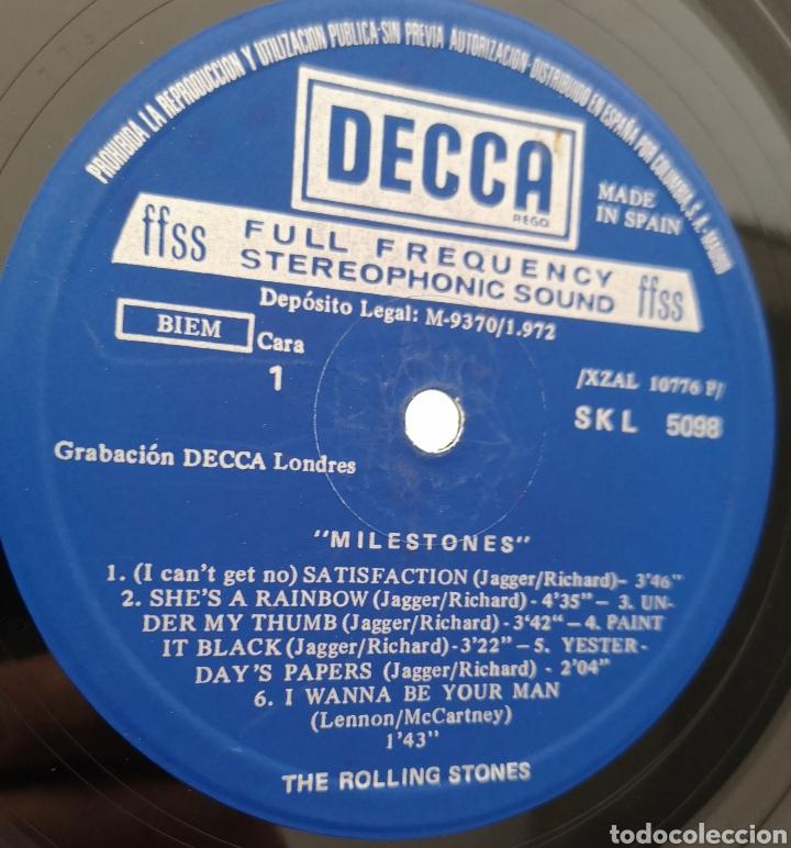 Discos de vinilo: ROLLING STONES - MILESTONES - Foto 2 - 195391773