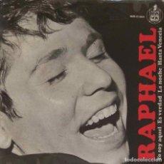 Discos de vinilo: RAPHAEL. YO SOY AQUEL. EP ESPAÑA. Lote 195392887