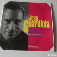 Discos de vinilo: JOSE GUARDIOLA - EXTRAÑOS EN LA NOCHE - EP SPAIN 1966. Lote 195393177