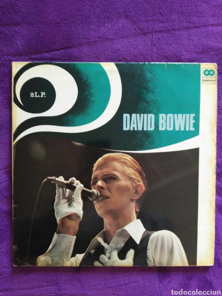 DAVID BOWIE:: 2LPS. (Música - Discos - LP Vinilo - Pop - Rock - Extranjero de los 70)
