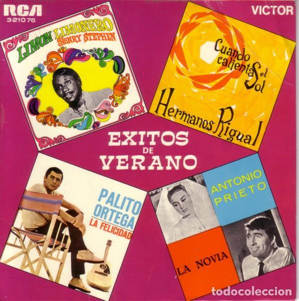 EXITOS DEL VERANO - SINGLE SPAIN 1969 (Música - Discos de Vinilo - EPs - Pop - Rock Extranjero de los 50 y 60	)