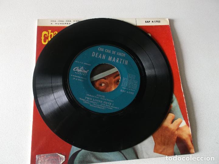 Discos de vinilo: DEAN MARTIN - CHA CHA DE AMOR +3 EP 1963 - Foto 3 - 195393798