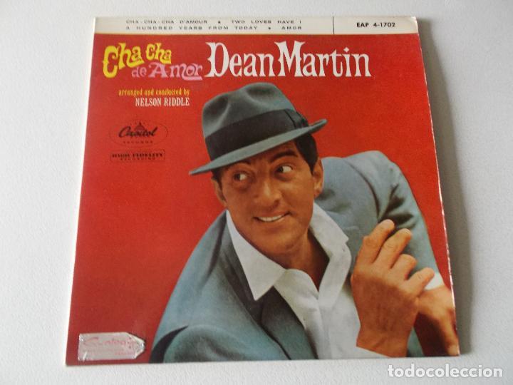 Discos de vinilo: DEAN MARTIN - CHA CHA DE AMOR +3 EP 1963 - Foto 4 - 195393798