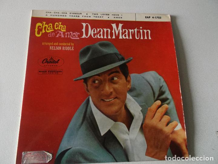 DEAN MARTIN - CHA CHA DE AMOR +3 EP 1963 (Música - Discos de Vinilo - EPs - Pop - Rock Extranjero de los 50 y 60)