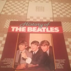 Discos de vinilo: THE BEATLES.HISTORY OF THE BEATLES.MASTERS MA 161285.HOLANDA.VINILO A ESTRENAR.. Lote 195395828