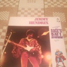 Discos de vinilo: JIMMY HENDRIX.JIMI HENDRIX.ANTOLOGÍA DEL ROCK'N'ROLL.VOL.3.ESPAÑA 1978.. Lote 195397425