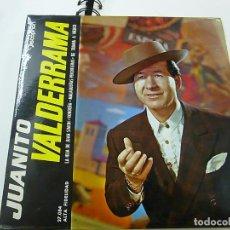 Discos de vinilo: JUANITO VALDERRAMA LA HIJA DE JUAN SIMON/RONDEÑA/MALAGUEÑAS PERCHELERAS/DE TRIANA A MEJICO - EP . Lote 195399588