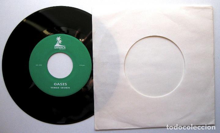 Discos de vinilo: Three Seven - Look For The Silver Linning - Single Xaymaca Sounds 2004 Japan BPY - Foto 2 - 195400558