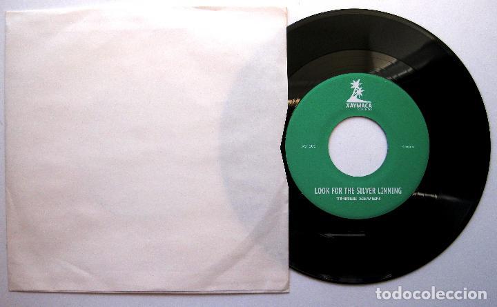 THREE SEVEN - LOOK FOR THE SILVER LINNING - SINGLE XAYMACA SOUNDS 2004 JAPAN BPY (Música - Discos - Singles Vinilo - Reggae - Ska)