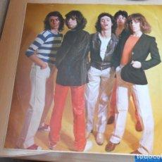 Discos de vinilo: TEQUILA - MATRICULA DE HONOR -, LP, ROCK & ROLL EN LA PLAZA + 11, AÑO 1978 SIN PORTADA - CON ENCARTE. Lote 195402758
