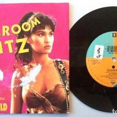 Discos de vinilo: TIA CARRERE / BALLROOM BLITZ / SINGLE 7 INCH. Lote 195402853