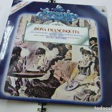 Discos de vinilo: DOÑA FRANCISQUITA - DANIEL MONTORIO -LP -N. Lote 195404800