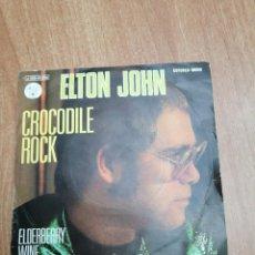 Discos de vinilo: DISCO ELTON JOHN - CROCODILE ROCK. Lote 195405675