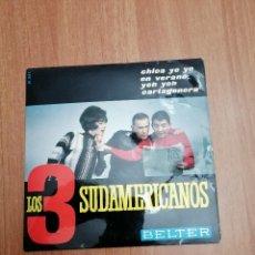 Discos de vinilo: LOS 3 SUDAMERICANOS - BELTER. Lote 195406143