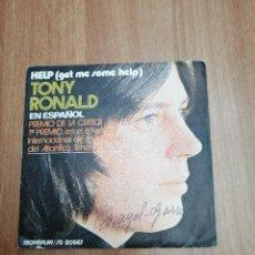 Discos de vinilo: DISCO TONY RONALD - EN ESPAÑOL. Lote 195406548
