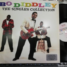 Discos de vinilo: BO DIDDLEY DOBLE LP THE SINGLES COLLECTION 2013 CARPETA DOBLE. Lote 195407401