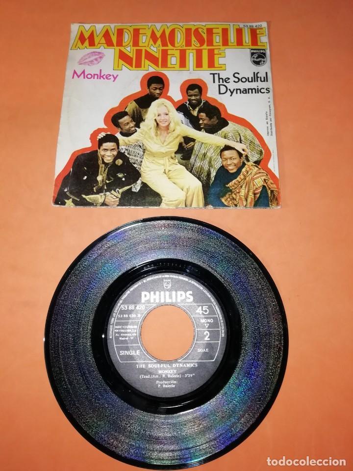 Discos de vinilo: THE SOULFUL DYNAMICS. MADEMOISELLE NINETTE. MONKEY. PHILLIPS RECORDS 1970 - Foto 2 - 195409658