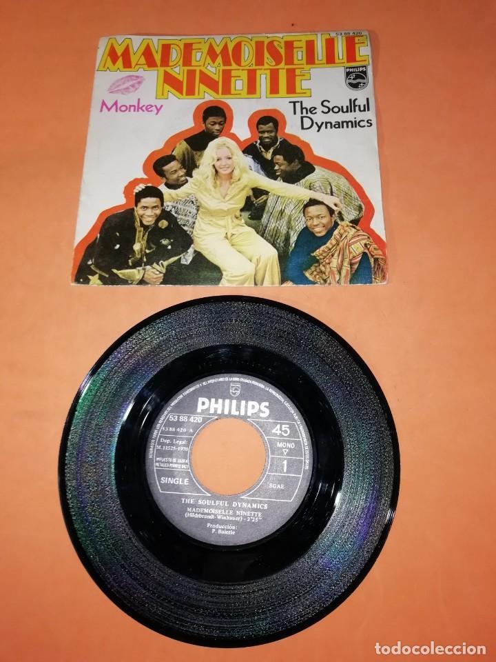THE SOULFUL DYNAMICS. MADEMOISELLE NINETTE. MONKEY. PHILLIPS RECORDS 1970 (Música - Discos - Singles Vinilo - Funk, Soul y Black Music)