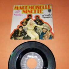 Discos de vinilo: THE SOULFUL DYNAMICS. MADEMOISELLE NINETTE. MONKEY. PHILLIPS RECORDS 1970. Lote 195409658