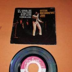 Discos de vinilo: OTIS REDDING. TU AMOR ME HA ELEVADO CADA VEZ MAS ALTO. LIBERAME. ATLANTIC RECORDS 1969. Lote 195410091