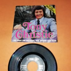 Discos de vinilo: TONY CHRISTIE. I DID WHAT I DID FOR MARIA. GIVE ME YOUR LOVE AGAIN. MCA RECORDS 1971.. Lote 195410573