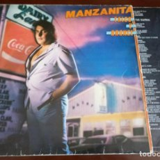 Discos de vinilo: MANZANITA - TALCO Y BRONCE - LP - 1981 - CON ENCARTE. Lote 195410701