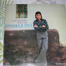 Discos de vinilo: LP VINILO PANSEQUITO , CANASTERO NACI YO. Lote 195412921