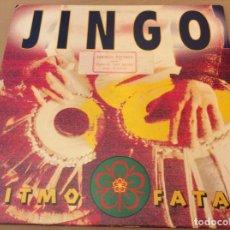 Discos de vinilo: JIMGO - RITMO FATAL - MAXISINGLE DANCE POOL DE 1994 MADE IN HOLLAND.. Lote 195413412