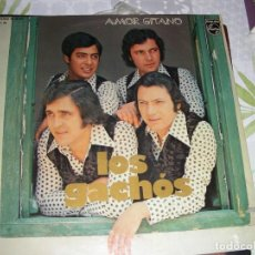 Discos de vinilo: LP VINILO LOS GACHOS , AMOR GITANO. Lote 195413695