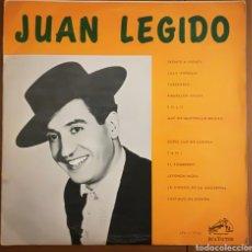 Discos de vinilo: JUAN LEGIDO - RCA VICTOR VENEZUELA. Lote 195413961